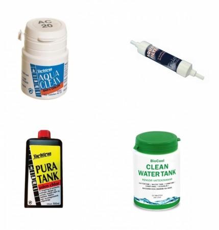 Vann- og tankrensemidler