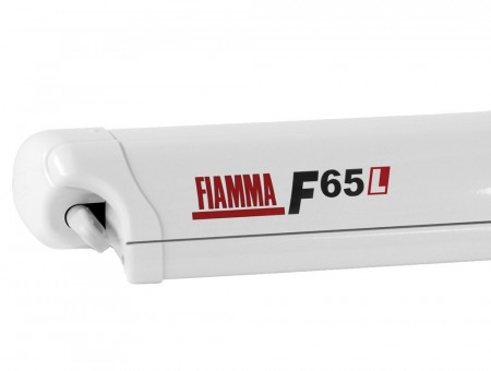 Markise F65L 450 hvit boks royal grey