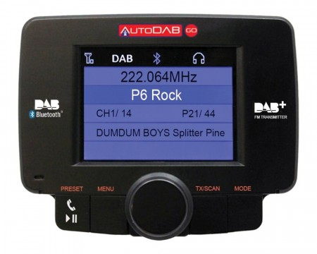 DAB-adapter AutoDAB Go