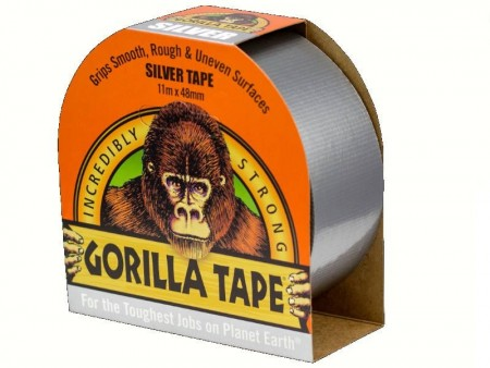 Gorilla Tape 32m x 48mm Silver